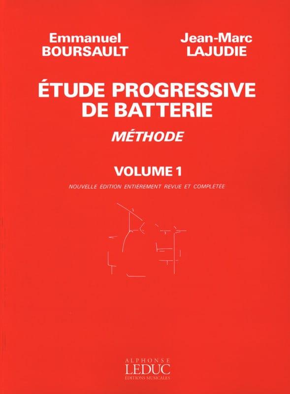 Etude Progressive de Batterie - Méthode Volume 1 - laflutedepan.com