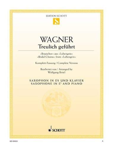 Treulich Geführt Lohengrin - WAGNER - Partition - laflutedepan.com