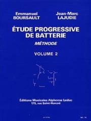 Etude Progressive de Batterie - Méthode Volume 2 laflutedepan