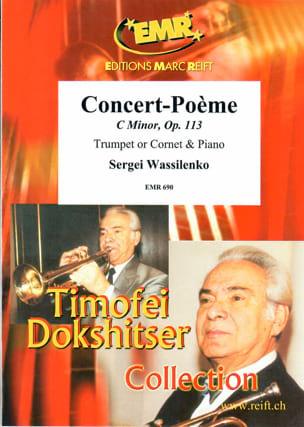 Concert-Poème In C-Moll Opus 113 Sergeï Wassilenko laflutedepan