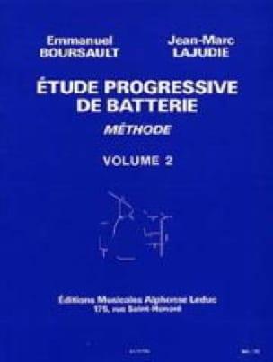 Etude Progressive de Batterie - Méthode Volume 2 - laflutedepan.com