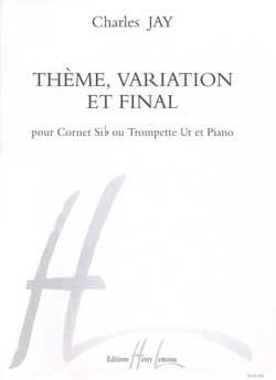 Thème, Variation Et Final Charles Jay Partition laflutedepan