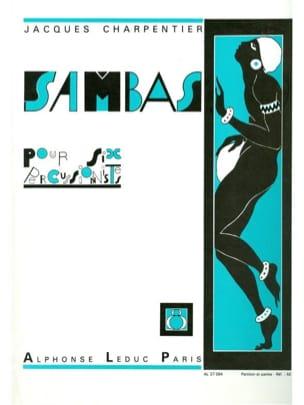 Sambas N° 8 CHARPENTIER Partition laflutedepan