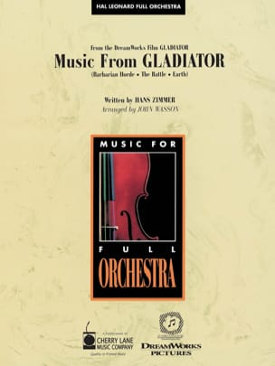 Music From Gladiator Hans Zimmer Partition laflutedepan