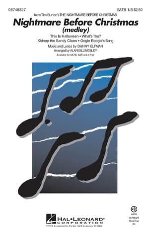 L'Étrange Noël de monsieur Jack - Chorale Medley laflutedepan