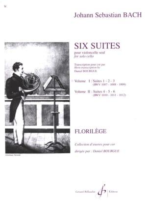 Six Suites Cello Volume 1 BACH Partition Cor - laflutedepan