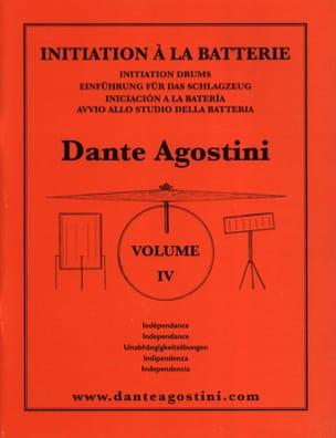 Méthode de batterie volume 4 Dante Agostini Partition laflutedepan