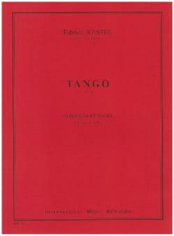 Tango Fabrice Kastel Partition Cor - laflutedepan