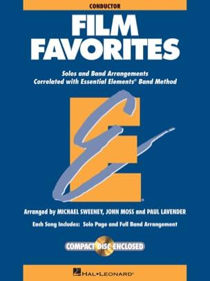 Film Favorites - Conducteur Partition ENSEMBLES - laflutedepan