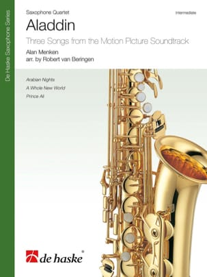 Aladdin - Saxophone Quartet DISNEY Partition Saxophone - laflutedepan