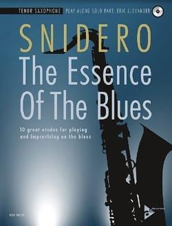 The Essence Of The Blues Jim Snidero Partition laflutedepan