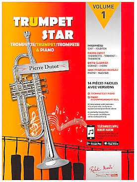 Trumpet star 1 - Partition - Trompette - laflutedepan.com