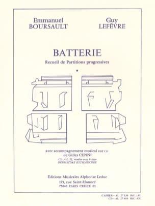 Batterie - Recueil de Partitions Progressives laflutedepan