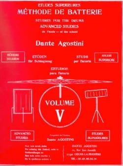 Méthode de batterie volume 5 Dante Agostini Partition laflutedepan