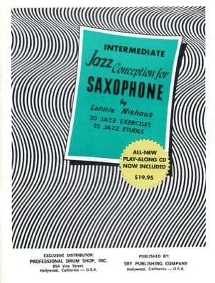 Intermediate Jazz Conception For Saxophone Lennie Niehaus laflutedepan