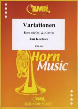 Variationen Opus 59/3 - Jan Koetsier - Partition - laflutedepan.com