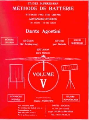 Méthode de batterie volume 5 - Dante Agostini - laflutedepan.com