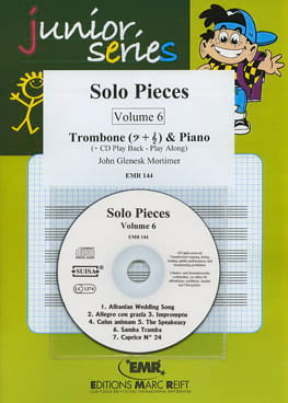 Solo Pieces Volume 6 John Glenesk Mortimer Partition laflutedepan