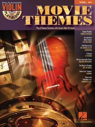 Violin play-along volume 31 - Movie Themes - laflutedepan.com