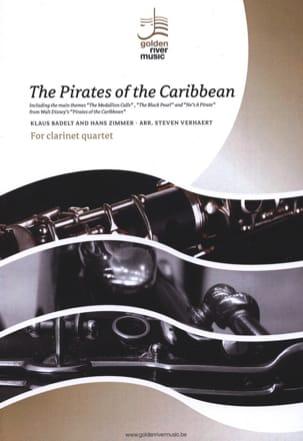 The Pirates of the Caribbean - Clarinet Quartet laflutedepan