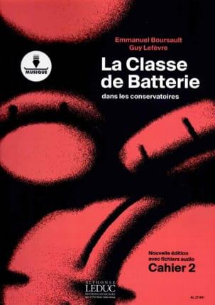 La Classe de batterie dans les conservatoires Cahier 2 laflutedepan