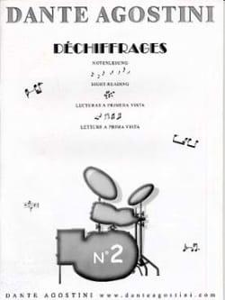 Déchiffrages volume 2 Dante Agostini Partition Batterie - laflutedepan