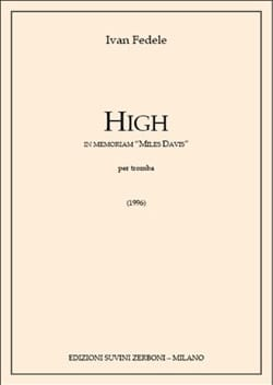 High In Memoriam Miles Davis Ivan Fedele Partition laflutedepan