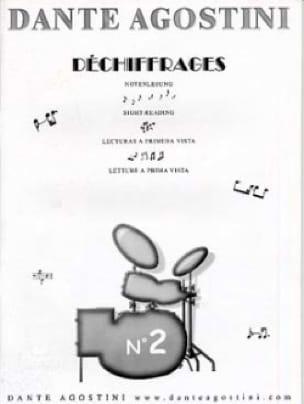 Déchiffrages volume 2 - Dante Agostini - Partition - laflutedepan.com