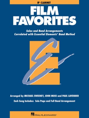 Film Favorites - Bb Clarinet Partition ENSEMBLES - laflutedepan
