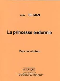 La princesse endormie André Telman Partition Cor - laflutedepan