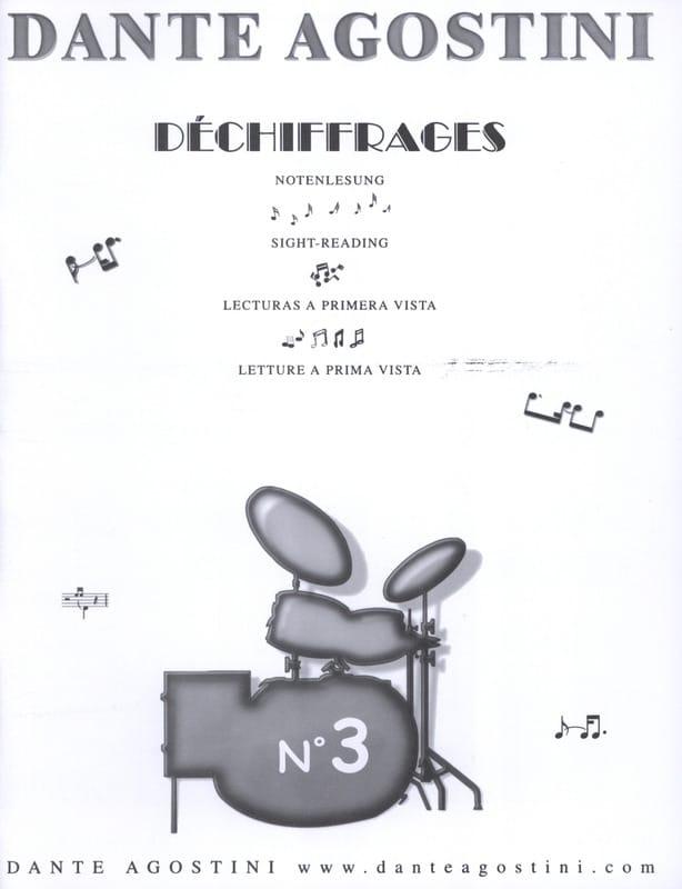 Déchiffrages volume 3 - Dante Agostini - Partition - laflutedepan.com