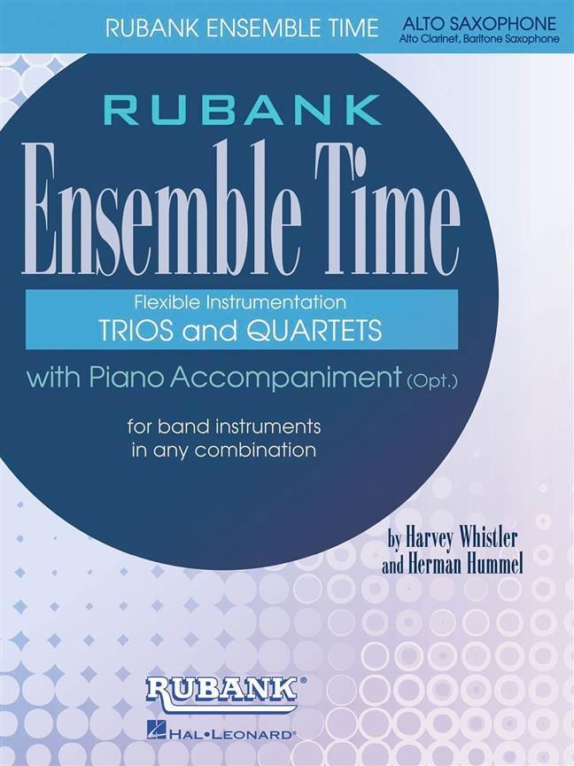 Ensemble Time - Partition - Saxophone - laflutedepan.com