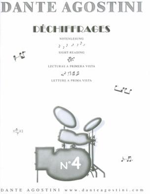 Déchiffrages volume 4 Dante Agostini Partition Batterie - laflutedepan