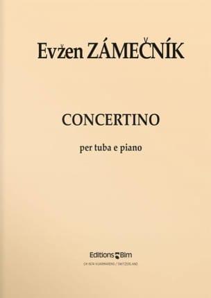 Concertino Evzen Zamecnik Partition Tuba - laflutedepan