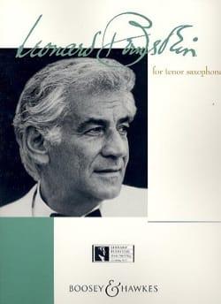 Bernstein For Tenor Saxophone BERNSTEIN Partition laflutedepan