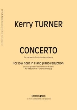 Concerto Kerry Turner Partition Cor - laflutedepan