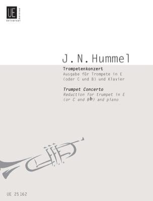 HUMMEL - Trumpet Concerto - Partition - di-arezzo.com