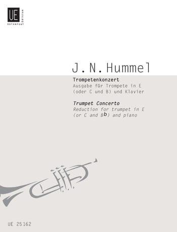 Trumpet Concerto - HUMMEL - Partition - Trompette - laflutedepan.com