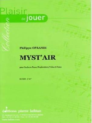 Myst' Air - Philippe Oprandi - Partition - Tuba - laflutedepan.com