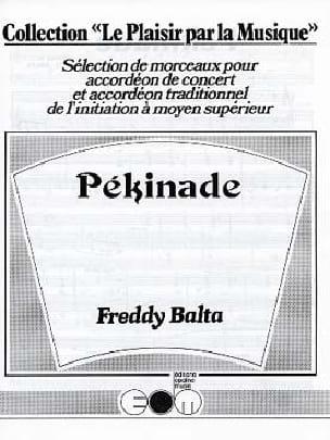 Pékinade - Freddy Balta - Partition - Accordéon - laflutedepan.com