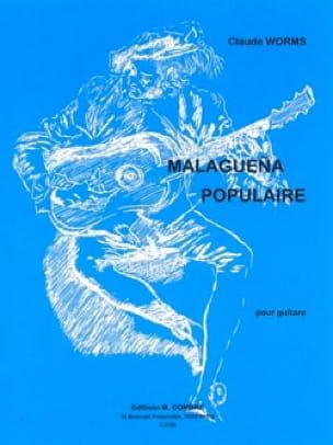Malaguena populaire - Claude Worms - Partition - laflutedepan.com