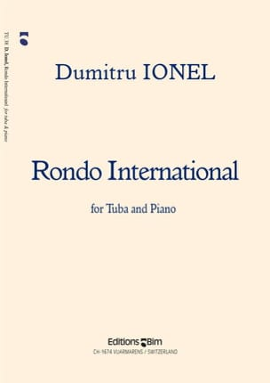 Rondo International Dumitru Ionel Partition Tuba - laflutedepan