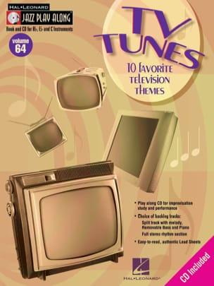 Jazz play-along volume 64 - Jazz Play Along TV Tunes laflutedepan