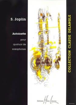 Antoinette JOPLIN Partition Saxophone - laflutedepan
