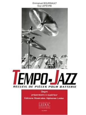 Tempo-Jazz BOURSAULT - LEFEVRE Partition Batterie - laflutedepan