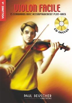 Violon Facile Volume 1 Partition Violon - laflutedepan