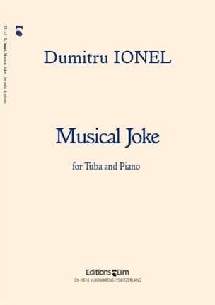 Musical Joke Dumitru Ionel Partition Tuba - laflutedepan