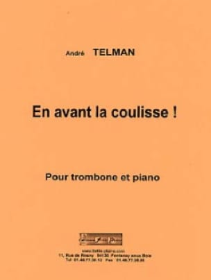 En Avant la Coulisse ! - André Telman - Partition - laflutedepan.com