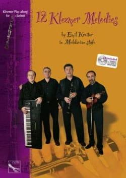 12 Klezmer Melodies Emil Kroitor Partition Clarinette - laflutedepan