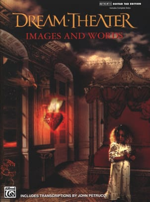 Images and words Dream Theater Partition Pop / Rock - laflutedepan